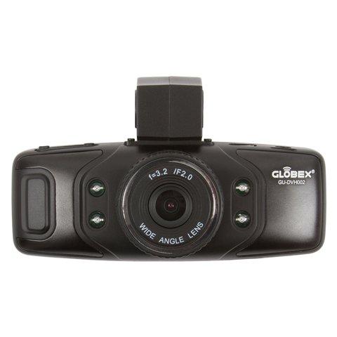 Автовидеорегистратор на 2 камеры Globex GU-DVH002 Превью 2
