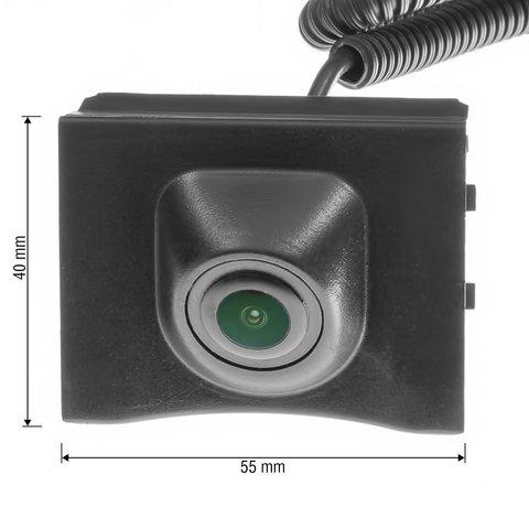 Камера переднего вида для Audi Q3 2013– г.в. Превью 6