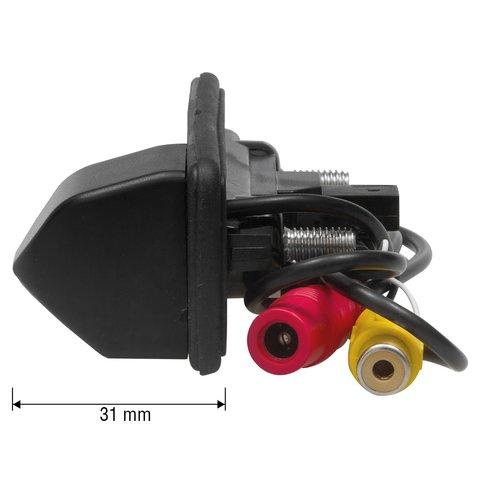 Камера заднего вида в ручку багажника для Skoda Octavia 2010-2013 г.в. Превью 2