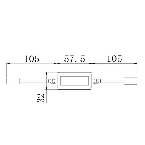 Адаптер CAN-шини для запобігання помилок світлодіодних ламп головного світла UP-DE-H7 Прев'ю 1