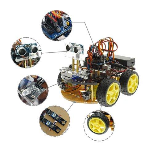 Конструктор Arduino Розумна машинка з Bluetooth-керуванням + посібник користувача Прев'ю 2