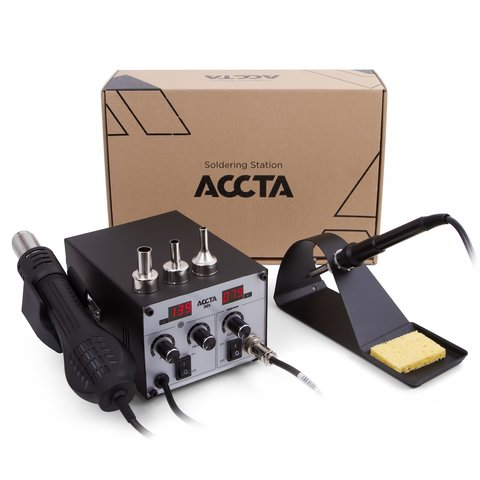 Hot Air Rework Station Accta 301 Preview 7