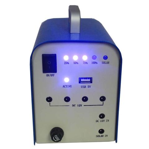 DC Portable Solar Power System, 10 W, 12 V / 7.2 Ah, Poly 18 V / 10 W Preview 1